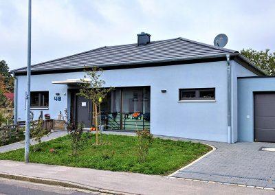 Neubau eines Einfamilienwohnhauses – Schwabach